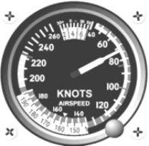 Airspeed Indicator ASI im Steigflug 70 kt